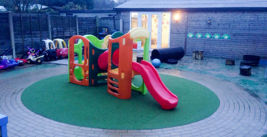 Day Nursery Garden Area